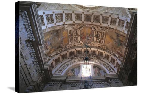 Glimpse of Ceiling of Church of San Biagio, Montepulciano, Italy, 16th Century--Stretched Canvas Print
