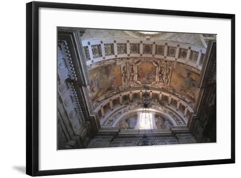 Glimpse of Ceiling of Church of San Biagio, Montepulciano, Italy, 16th Century--Framed Art Print