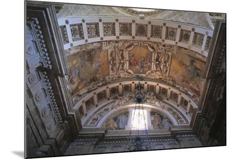 Glimpse of Ceiling of Church of San Biagio, Montepulciano, Italy, 16th Century--Mounted Giclee Print