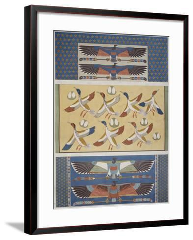 Ceiling Decorations at Thebes and Memphis--Framed Art Print