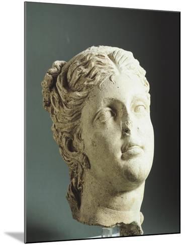 Female Head. Etruscan Civilization, 9th-1st Century BC--Mounted Giclee Print
