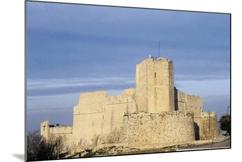 Norman Castle of Monte Sant'Angelo, Bari, Apulia, Italy, 12th Century--Mounted Giclee Print