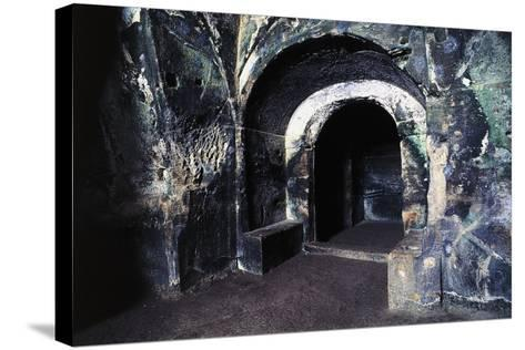 Cave of Sybil, Archaeological Park of Cuma, Pozzuoli, Campania, Italy, 7th-6th Century BC--Stretched Canvas Print