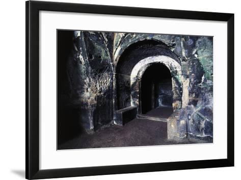 Cave of Sybil, Archaeological Park of Cuma, Pozzuoli, Campania, Italy, 7th-6th Century BC--Framed Art Print