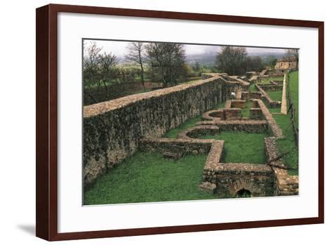 Thermal Baths, Saepinum, Sepino, Molise, Italy--Framed Art Print