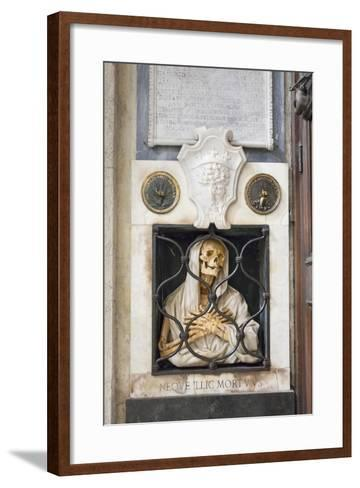 Funerary Monument of Giovanni Battista Gisleni, 1670, Santa Maria Del Popolo Church, Rome, Italy--Framed Art Print