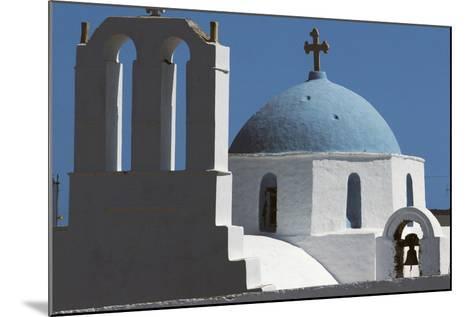 Church in Thira, Santorini Island, Cyclades, Greece--Mounted Giclee Print