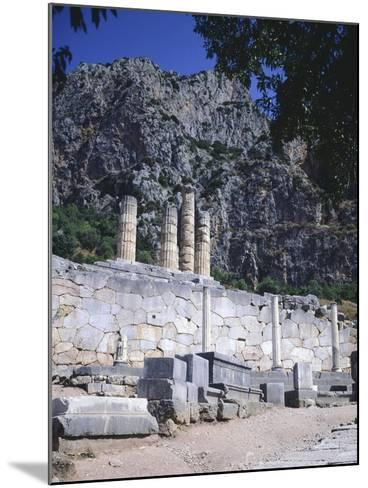 Greece, Delphi, Portico of the Athenians,5th Century BC, Ancient Greece--Mounted Giclee Print