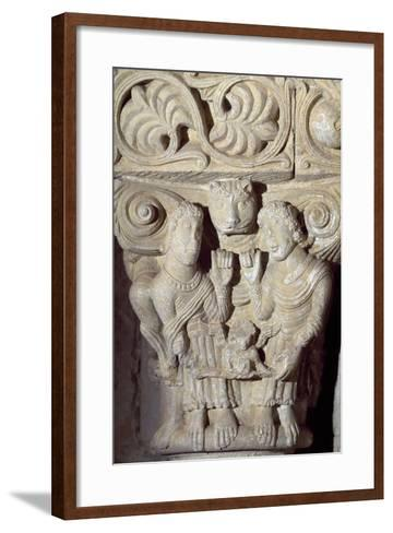 Architectural Detail from Monastery of Saint Zoilus, Carrion De Los Condes, Castile and Leon, Spain--Framed Art Print
