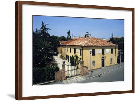 Birthplace of Giovanni Pascoli, Casa Pascoli Museum, San Mauro Pascoli, Emilia-Romagna, Italy--Framed Art Print