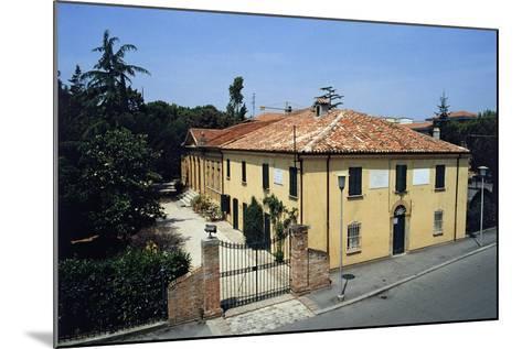 Birthplace of Giovanni Pascoli, Casa Pascoli Museum, San Mauro Pascoli, Emilia-Romagna, Italy--Mounted Giclee Print