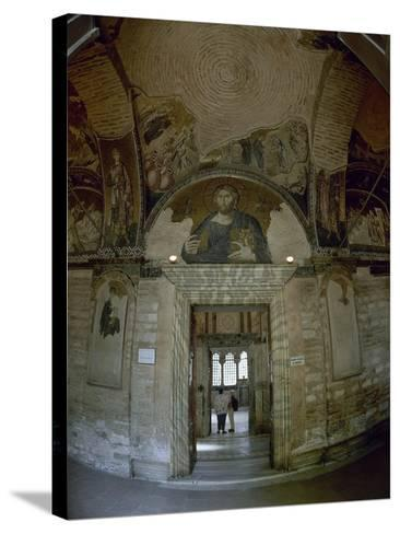 Church of the Holy Saviour in Chora. Exterior, Istanbul--Stretched Canvas Print