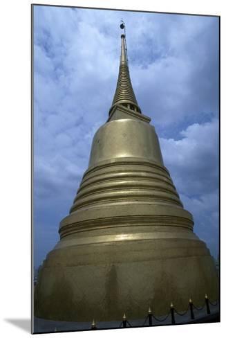 Thailand, Ayutthaya, Wat Sakesa Temple, Architectural Detail--Mounted Giclee Print
