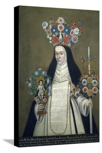 Sister Maria Josefa of Most Holy Rosary, Who Taught at Convent of Jesus of Guadalajara--Stretched Canvas Print
