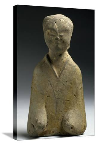 Funerary Figurine, China, Eastern Han Dynasty, 3rd-1st Century--Stretched Canvas Print