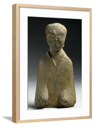 Funerary Figurine, China, Eastern Han Dynasty, 3rd-1st Century--Framed Art Print