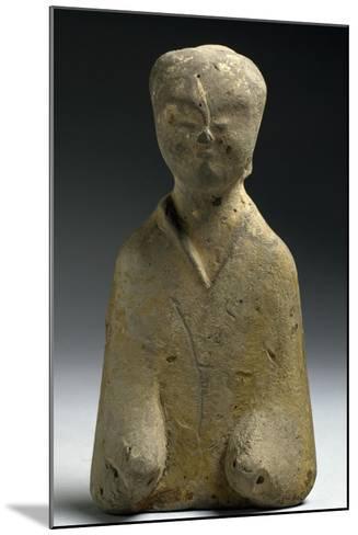 Funerary Figurine, China, Eastern Han Dynasty, 3rd-1st Century--Mounted Giclee Print
