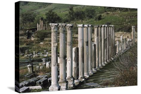 Ascleplieion, Pergamon, Turkey AD--Stretched Canvas Print