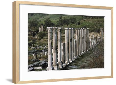 Ascleplieion, Pergamon, Turkey AD--Framed Art Print