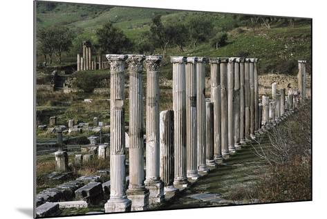 Ascleplieion, Pergamon, Turkey AD--Mounted Giclee Print