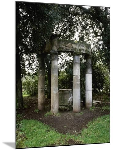 Italy, Pompeii, Triangular Forum, Tholos with Sacred Deep Well--Mounted Giclee Print