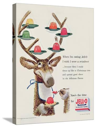 Advertisement for 'Jello', 1954--Stretched Canvas Print