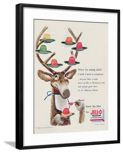 Advertisement for 'Jello', 1954--Framed Art Print