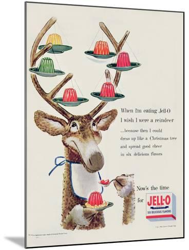 Advertisement for 'Jello', 1954--Mounted Giclee Print