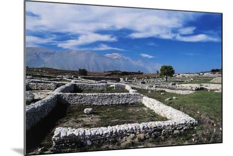 Ruins of Archaeological Site of Juvanum, Montenerodomo, Abruzzo, Italy, 3rd-4th Century BC--Mounted Giclee Print