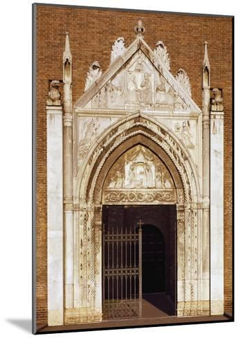 Portal of Church of San Giovanni Evangelista, Ravenna, Emilia-Romagna, Italy--Mounted Giclee Print