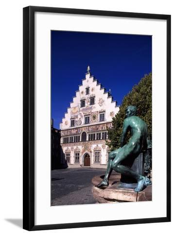 Old Town Hall in Lindau, Bavaria, Germany--Framed Art Print