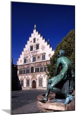 Old Town Hall in Lindau, Bavaria, Germany--Mounted Giclee Print