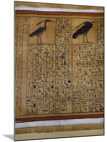 Book of the Dead, Tomb of Kha, Egypt--Mounted Giclee Print