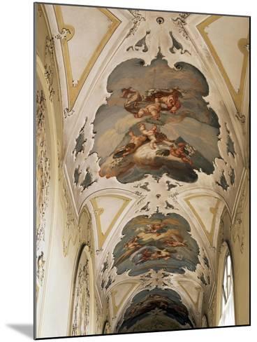 Italy, Sicily, Catania, Palazzo Biscari, the Ballroom, the Galleryed Vault--Mounted Giclee Print