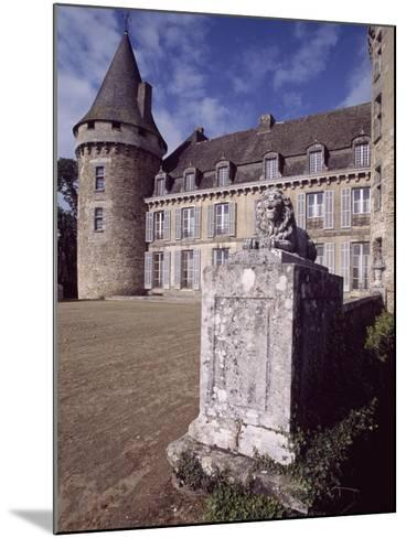 View of Chateau De Coussac-Bonneval, Limousin, France, 14th-17th Century--Mounted Giclee Print