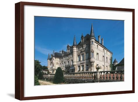 France, Lorraine, Dieu-Sur-Meuse, Monthairons Castle--Framed Art Print