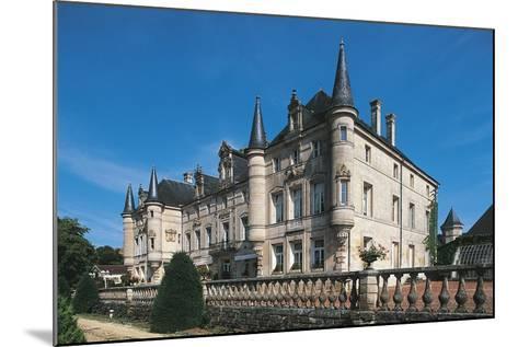 France, Lorraine, Dieu-Sur-Meuse, Monthairons Castle--Mounted Giclee Print