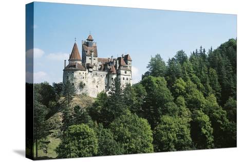 Bran Castle, Romania--Stretched Canvas Print
