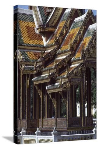 Thailand, Bang Pa In, Summer Palace--Stretched Canvas Print