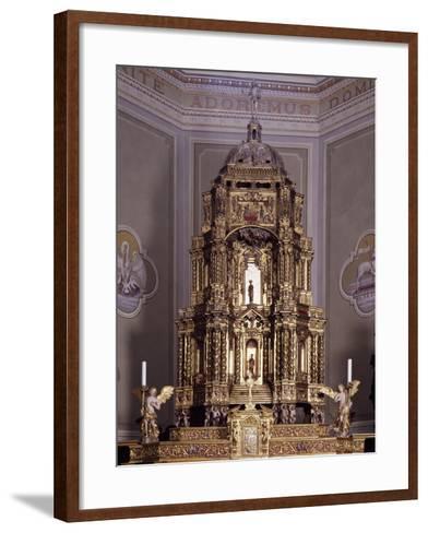 Altar, San Lorenzo Parish Church, Antronapiana, Antrona Schieranco, Italy--Framed Art Print