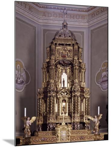Altar, San Lorenzo Parish Church, Antronapiana, Antrona Schieranco, Italy--Mounted Giclee Print