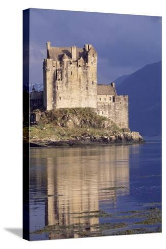 Eilean Donan Castle, Loch Duich, Highlands, Detail, Scotland, 13th-20th Century--Stretched Canvas Print