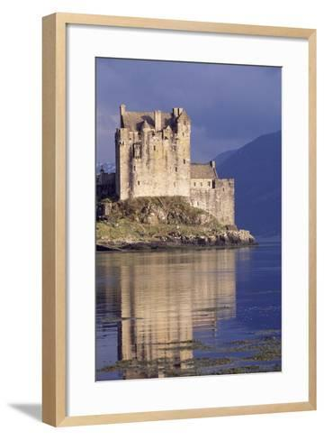 Eilean Donan Castle, Loch Duich, Highlands, Detail, Scotland, 13th-20th Century--Framed Art Print