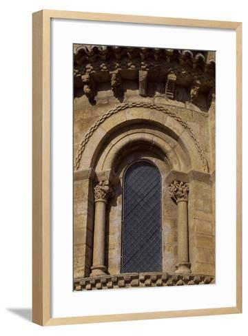 Spain, Castile and Leon, Fromista, Church of St Martin De Tours, Apse Detail--Framed Art Print