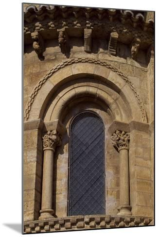 Spain, Castile and Leon, Fromista, Church of St Martin De Tours, Apse Detail--Mounted Giclee Print