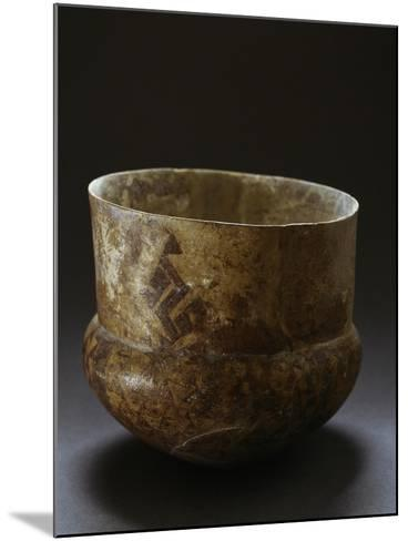 Ceramic Vase from Archaeological Site of Serra D'Alto, Basilicata, Italy, Neolithic Era--Mounted Giclee Print