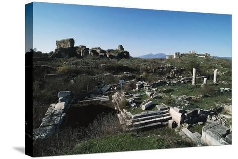 Bouleuterion in Miletus, Turkey, Hellenistic Civilization, 2nd-1st Century BC--Stretched Canvas Print