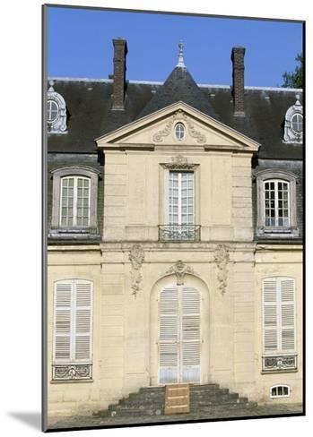 Facade of Chateau De Jossigny, Ile-De-France, Detail, France--Mounted Giclee Print