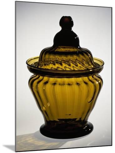 Pressed Glass Sugar Bowl, Possibly Zanesville Glass Works, Ohio, 1815-183--Mounted Giclee Print