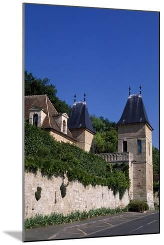 View of Chateau De Medan, Ile-De-France. France, 15th-19th Century--Mounted Giclee Print